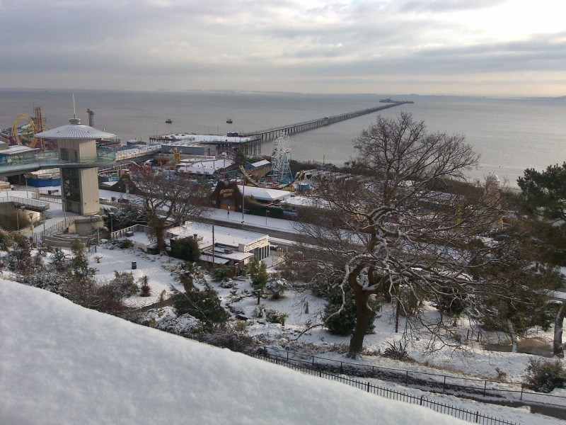 Winter at Pier View